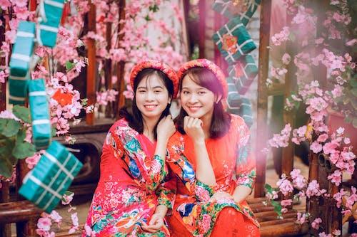 亞洲人, 亞洲女孩, 人, 傳統 的 免費圖庫相片