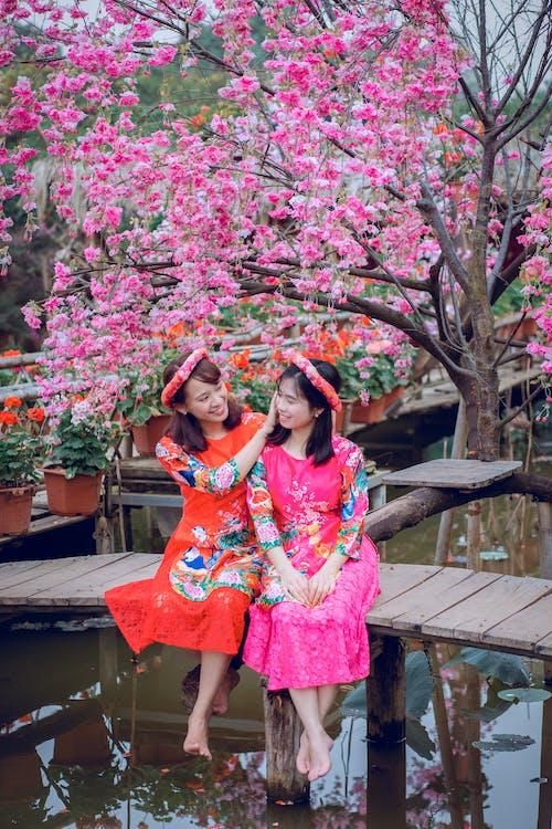 一起, 亞洲人, 傳統, 傳統服飾 的 免費圖庫相片