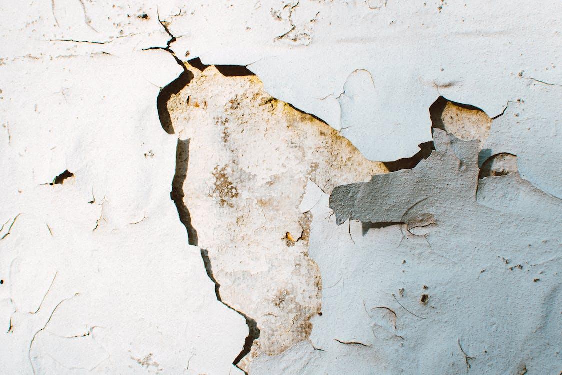 bề mặt, bê tông, cận cảnh