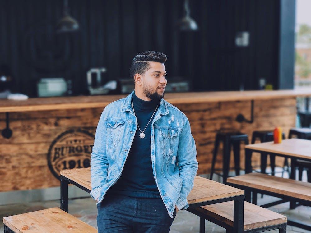 Men's Blue Denim Jacket