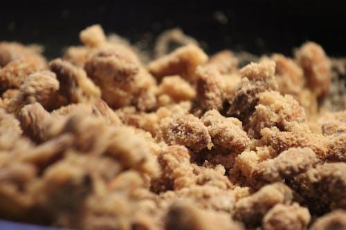 Free stock photo of almonds, burnt almonds, cake