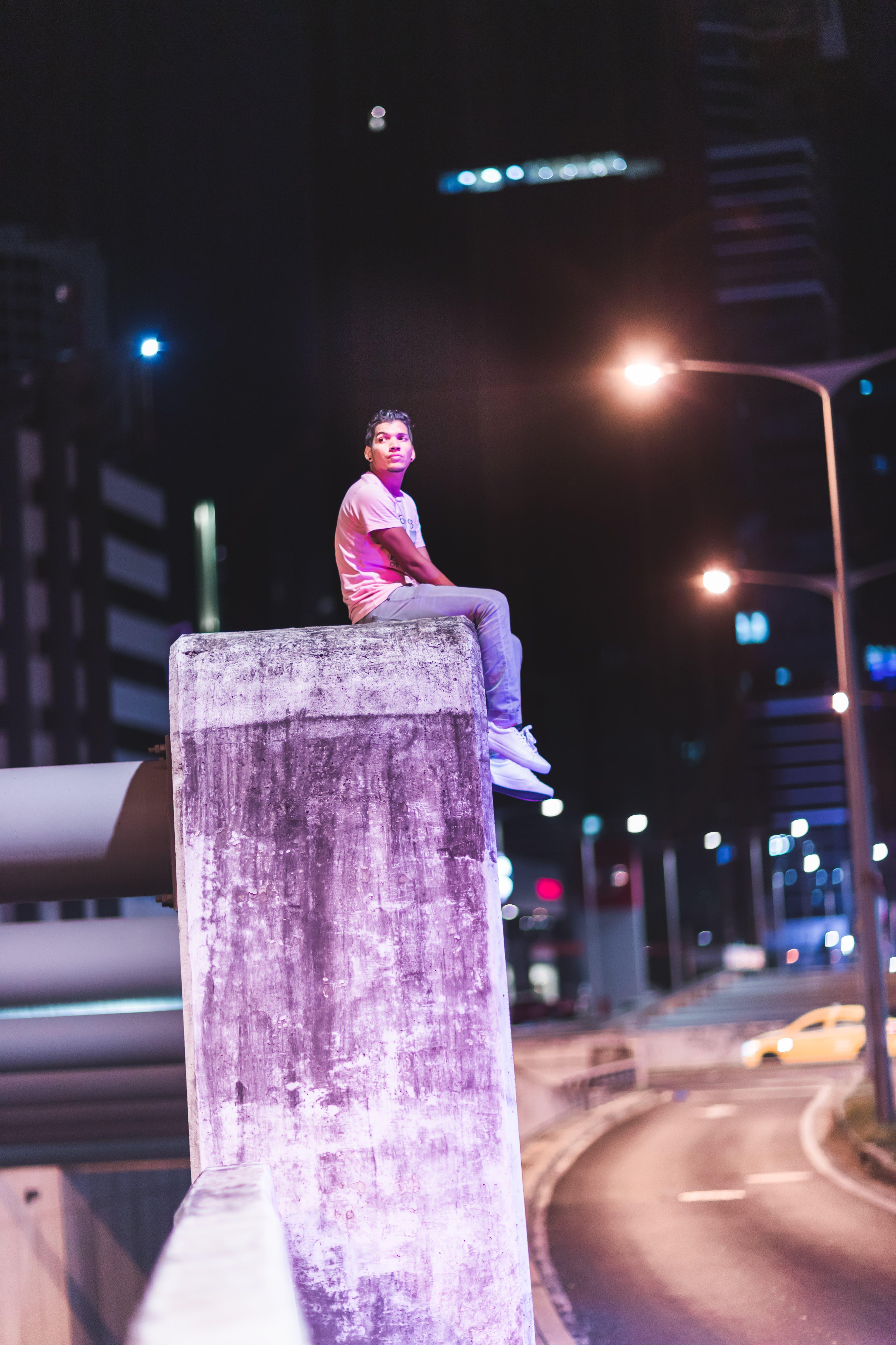 Δωρεάν στοκ φωτογραφιών με urbex, δρόμος, Νύχτα, νυχτερινή φωτογραφία
