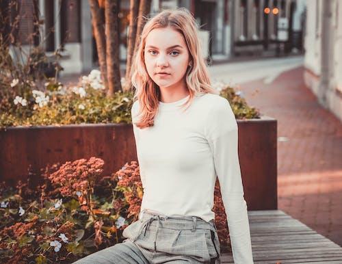 Photo of Girl Wearing Long Sleeves