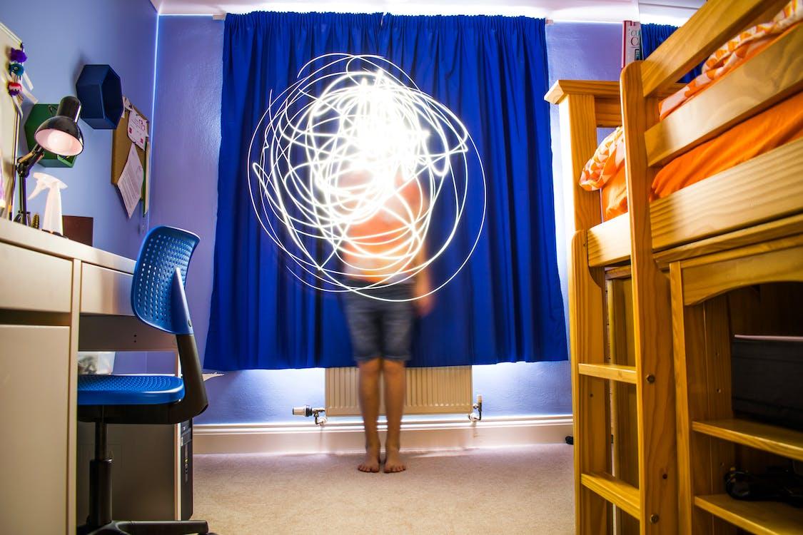 光, 光線, 床 的 免費圖庫相片