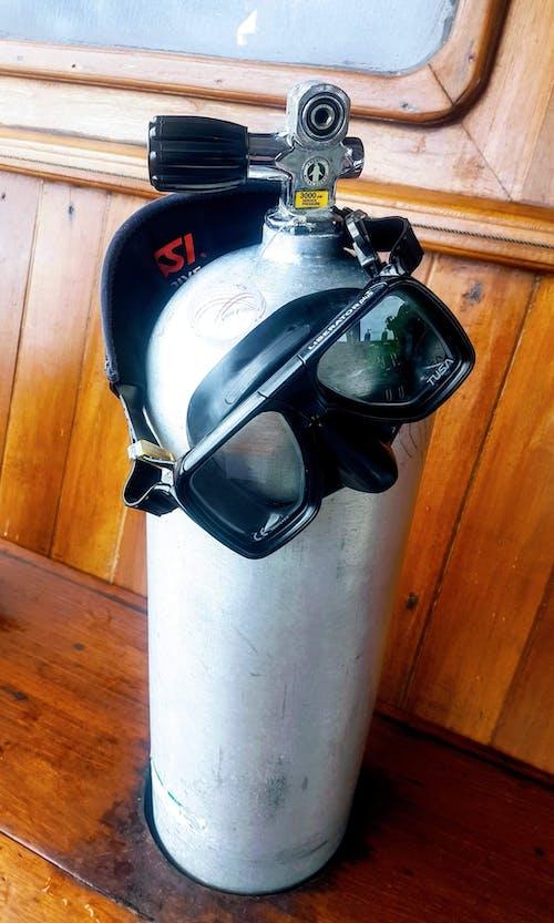 Gratis stockfoto met #oxygen #mask #scuba #duiken