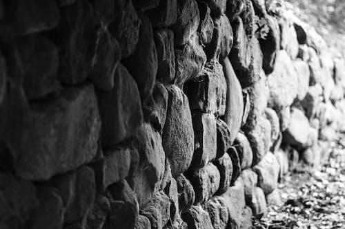 Gratis arkivbilde med gammel mur, slott steinmur, slottvegg, steinvegg