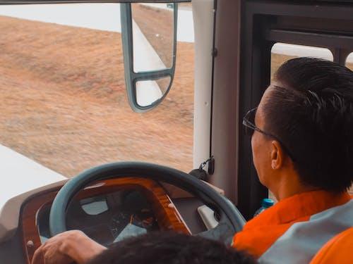 スクールバス, スピードメーター, ドライバーの無料の写真素材