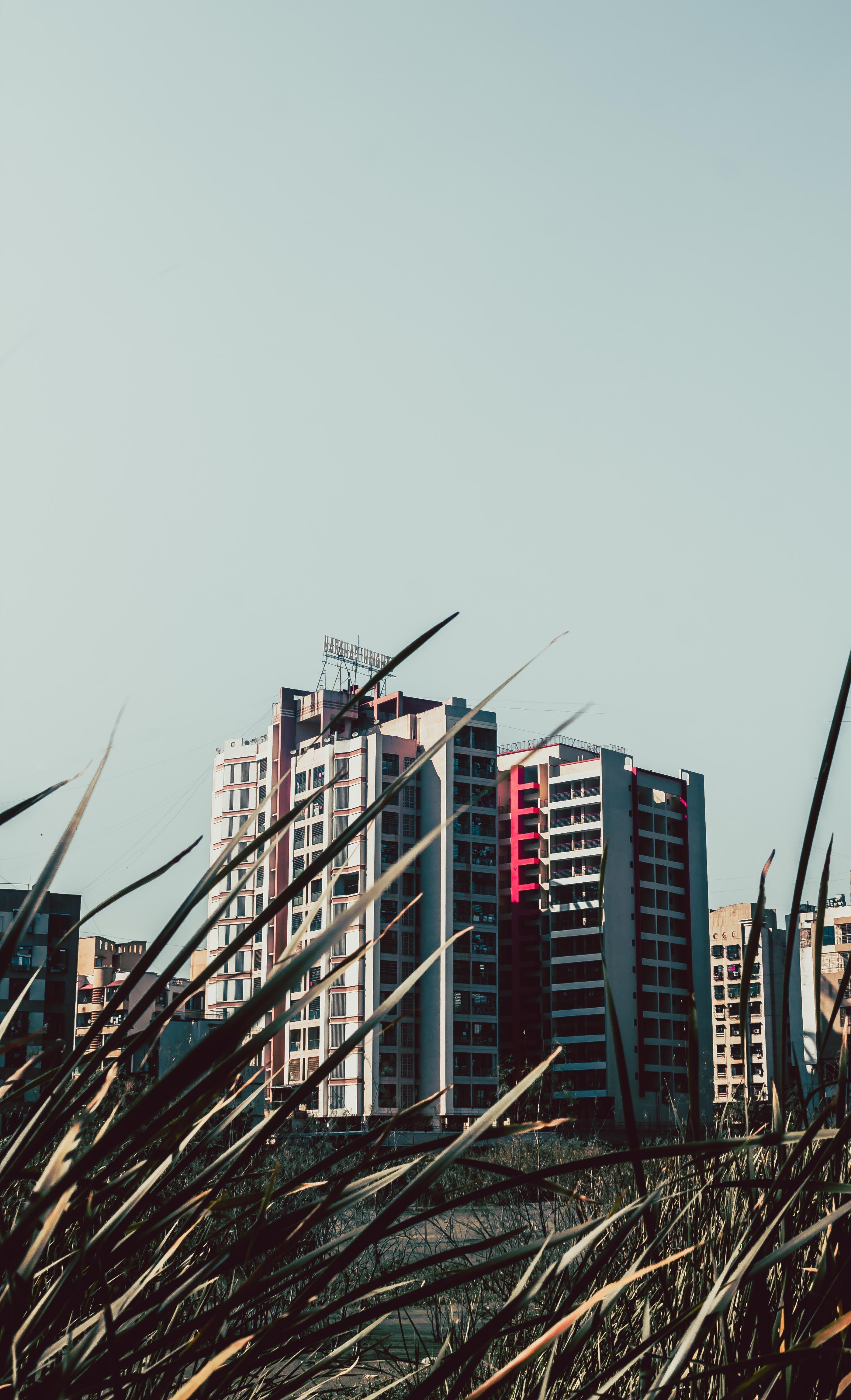 Kostenloses Stock Foto zu architektur, außen, bau, blau