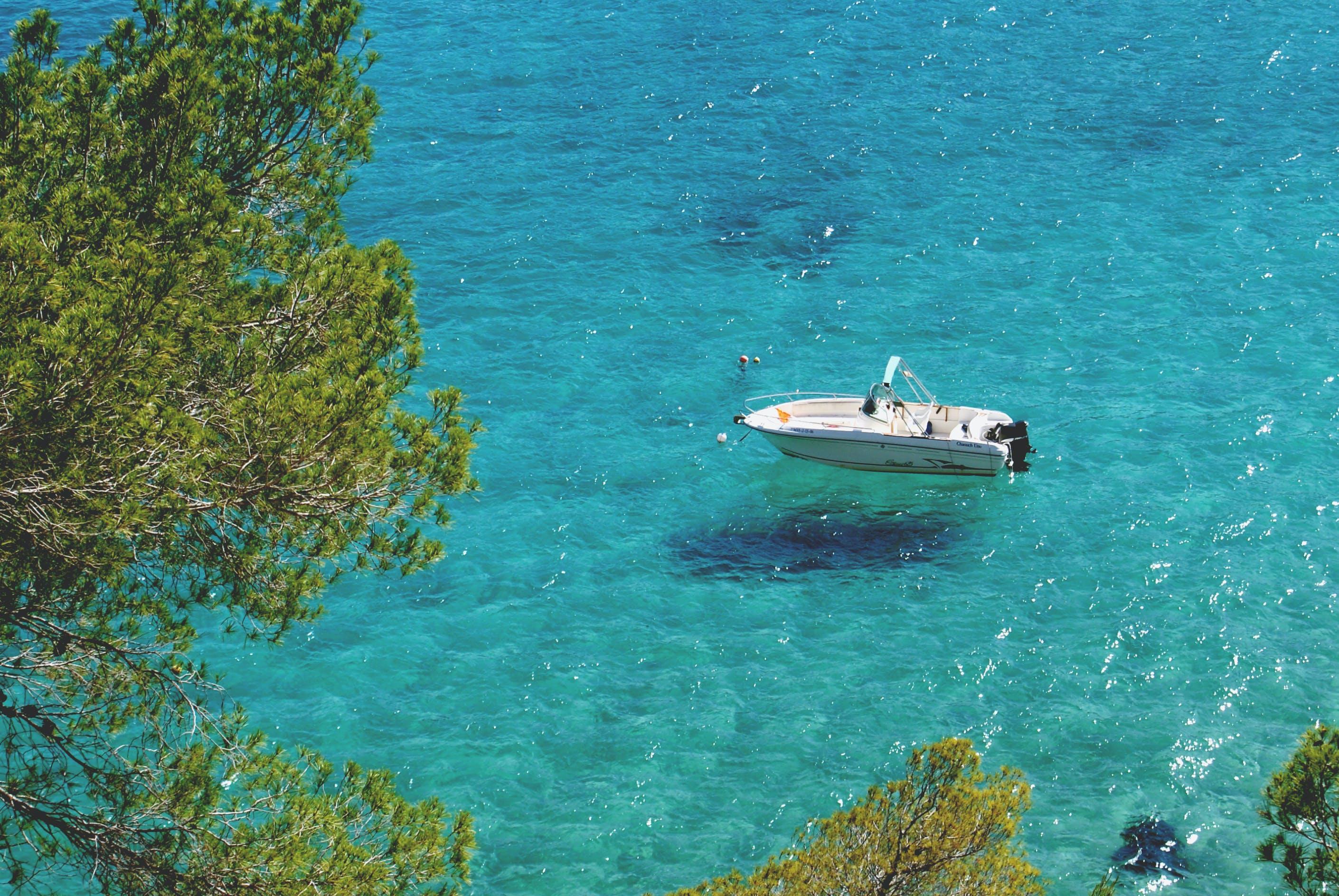 Free stock photo of boat, coast, little boat, mediterranean sea