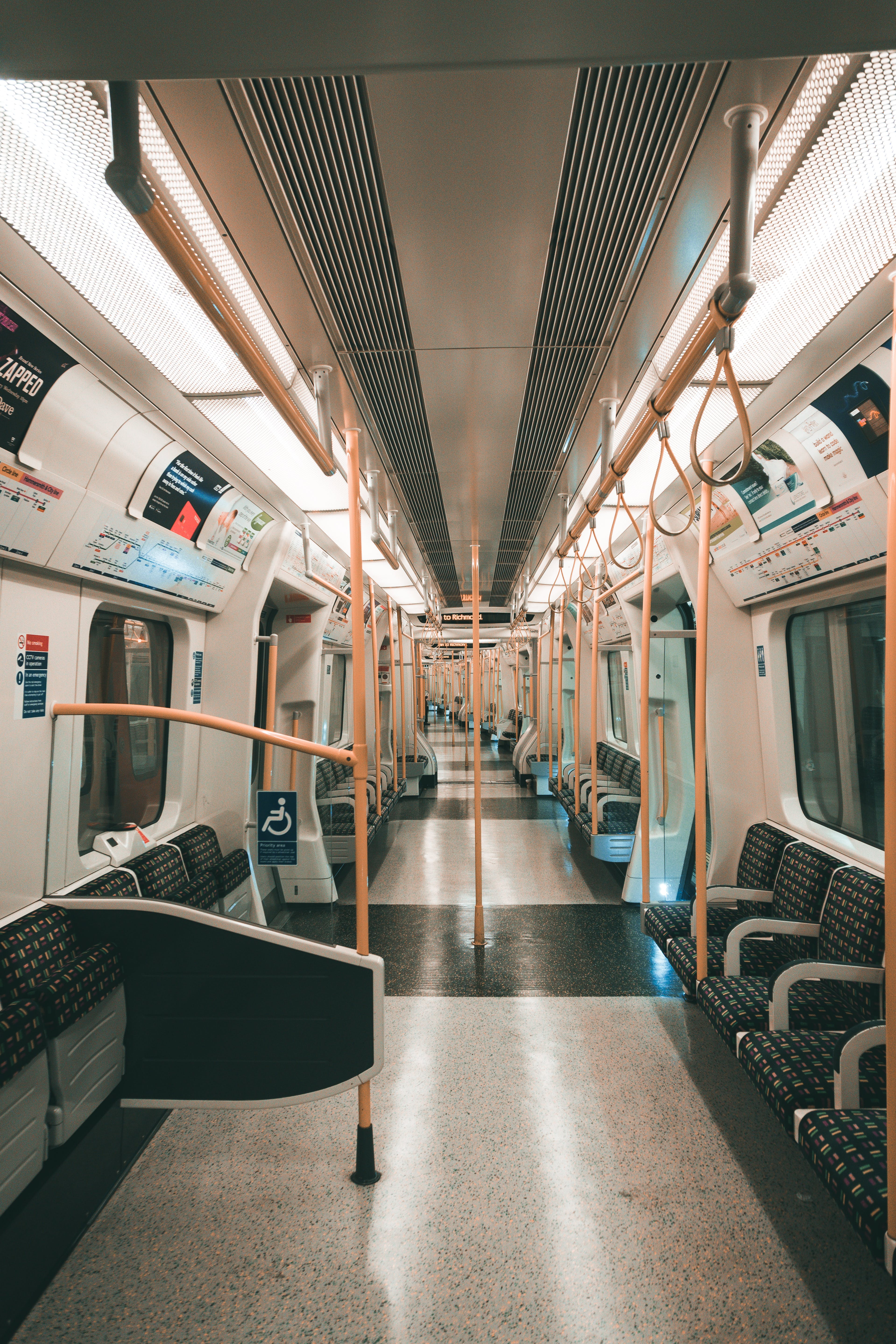 Free stock photo of subway, trem