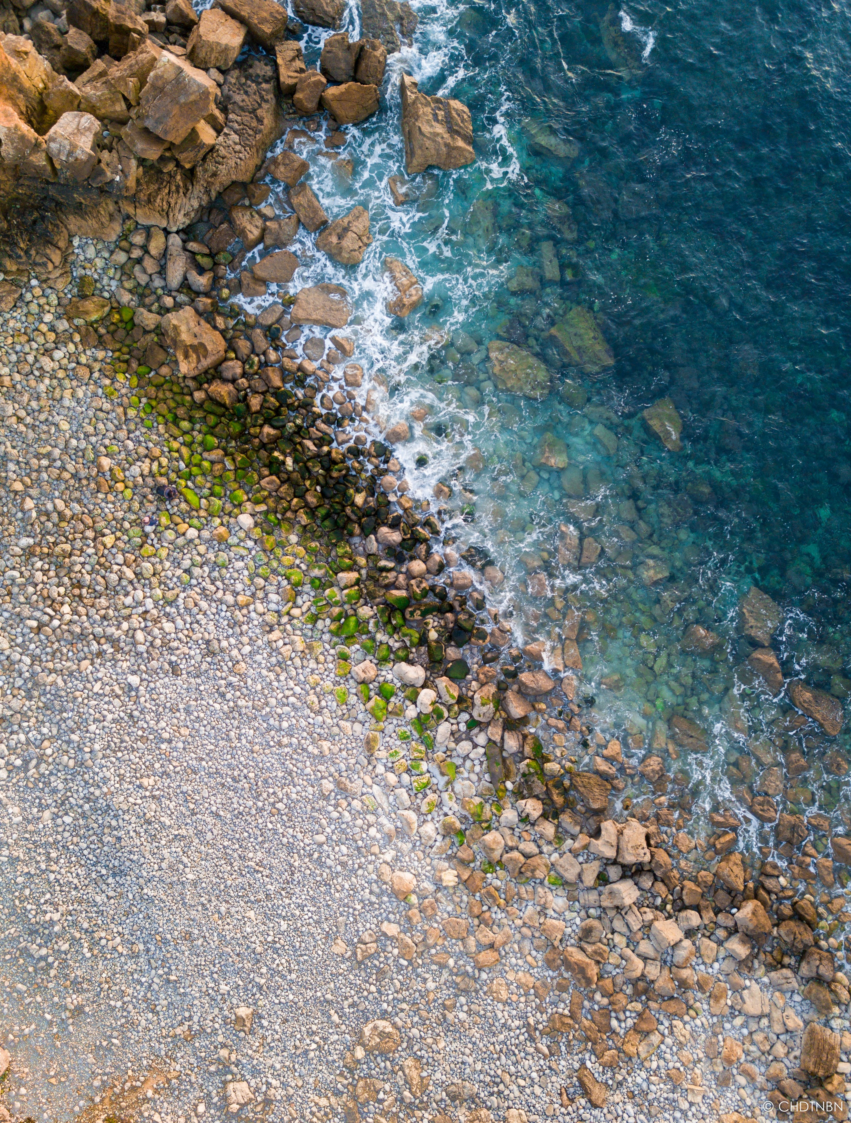 Free stock photo of brech, drone beach, drone photography, drone shot