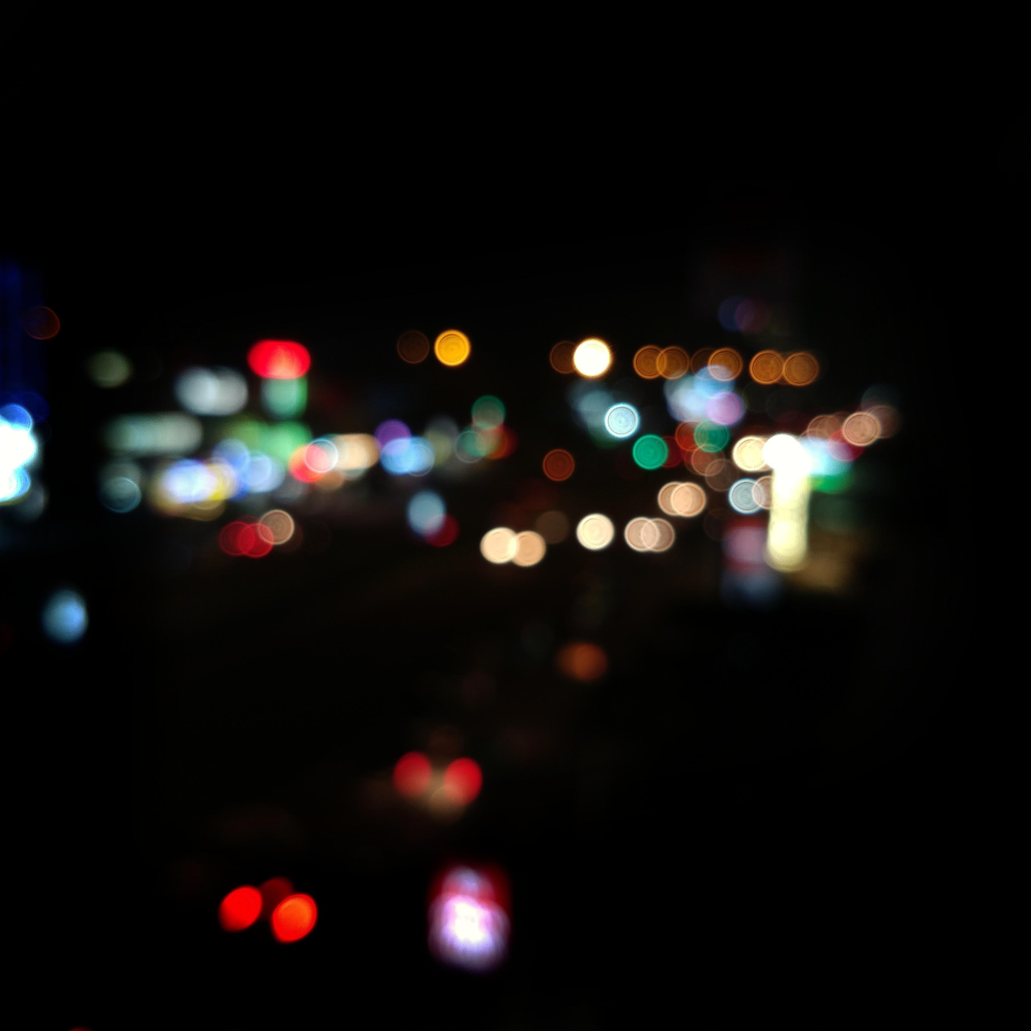 Foto Stok Gratis Tentang Background Hitam, Kota Malam, Lampu Peri