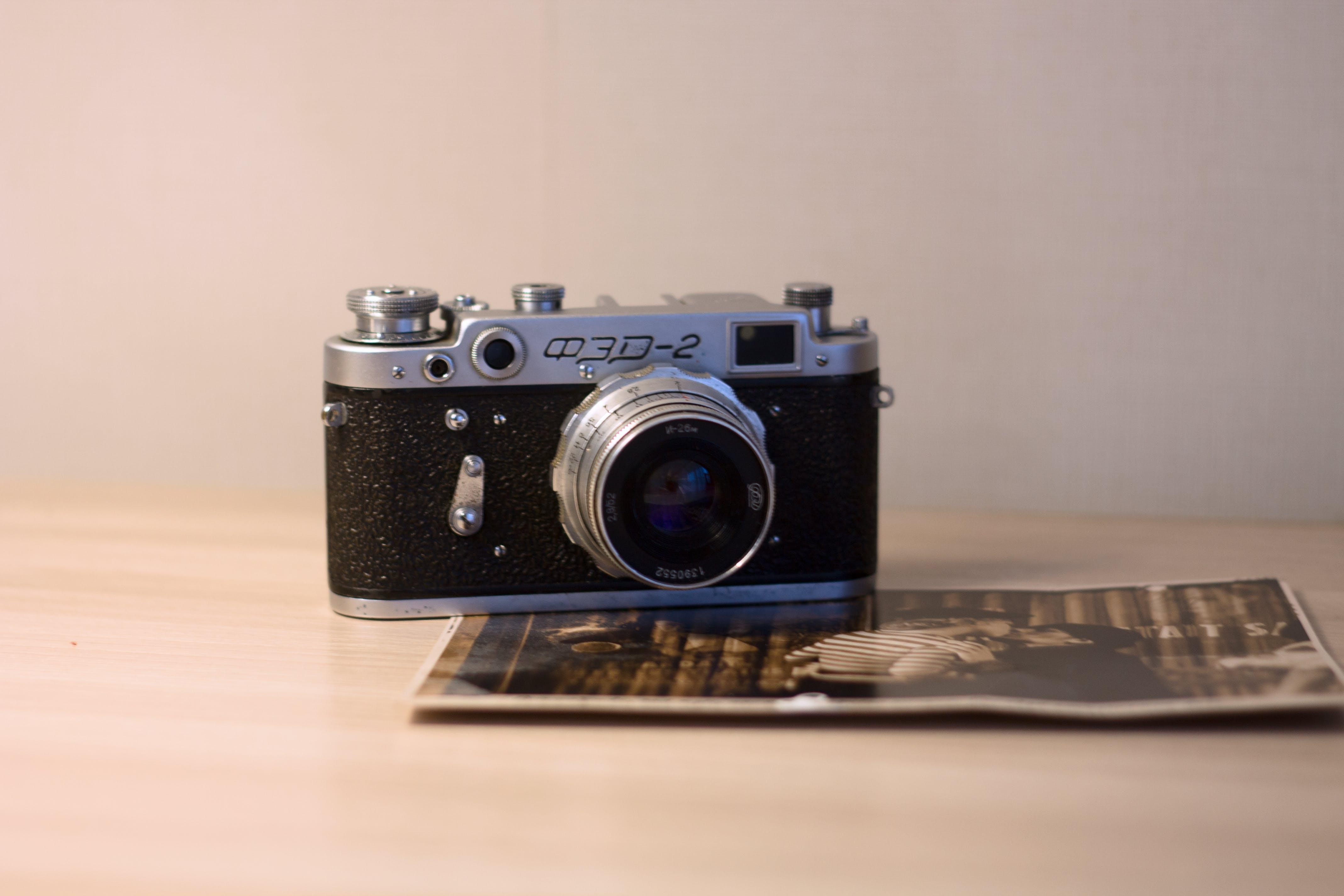Foto d'estoc gratuïta de Analògic, càmera, retro, vintage