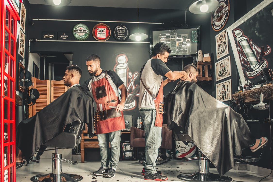adults, barber, barberia