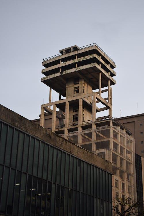 Foto stok gratis Arsitektur, baja, bangunan, beton