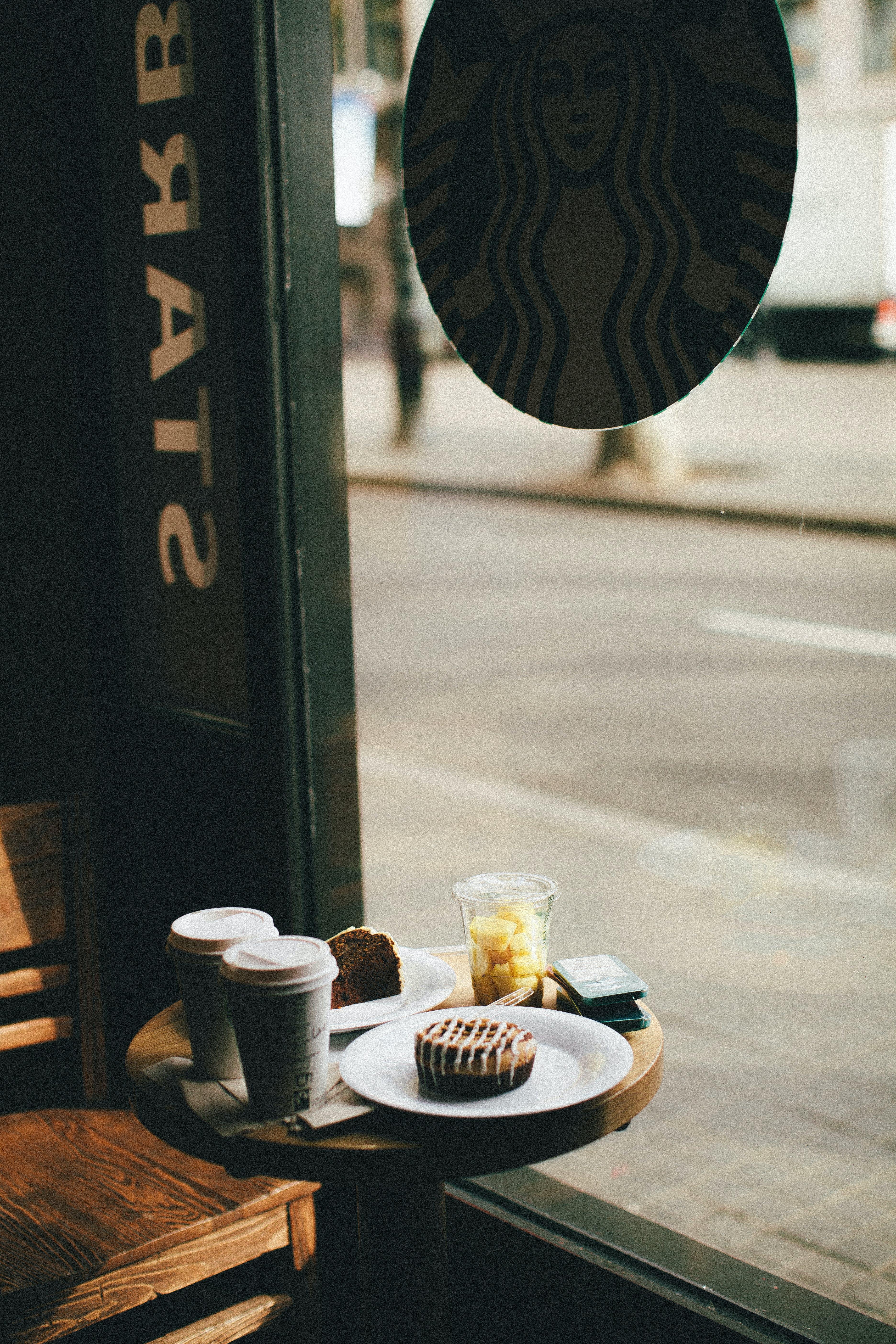 Food And Drinks At Starbucks