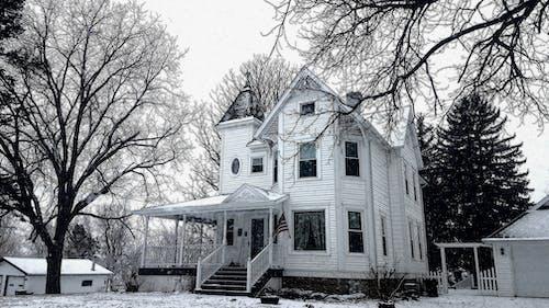 Gratis stockfoto met #house #victorian #winter #snow