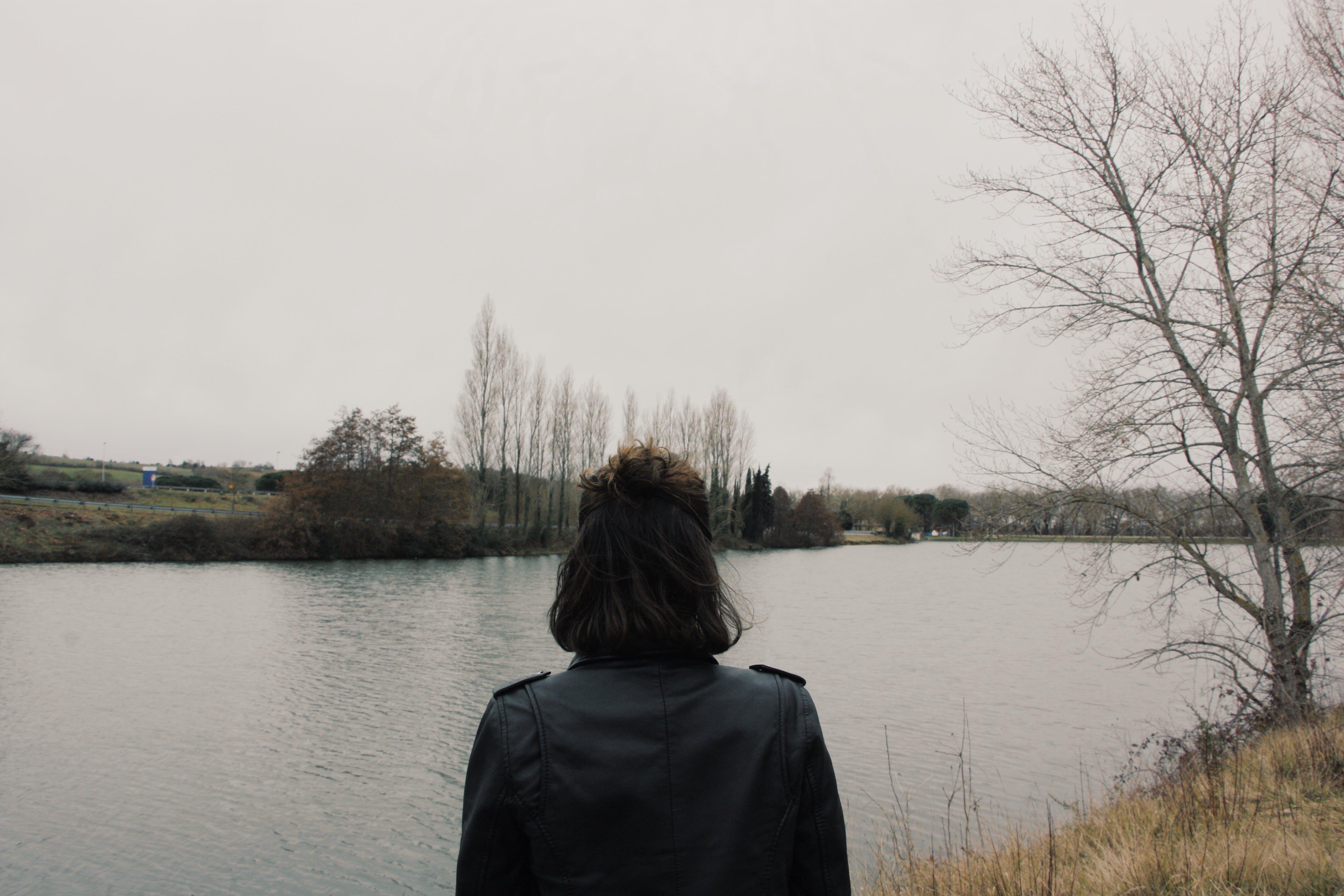 back, black, cold