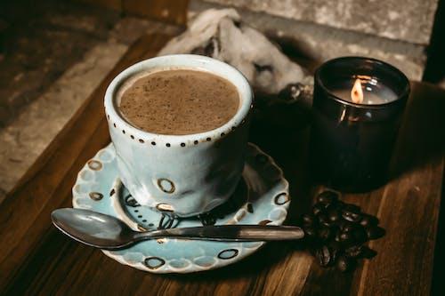 咖啡, 咖啡因, 咖啡杯, 咖啡豆 的 免费素材照片