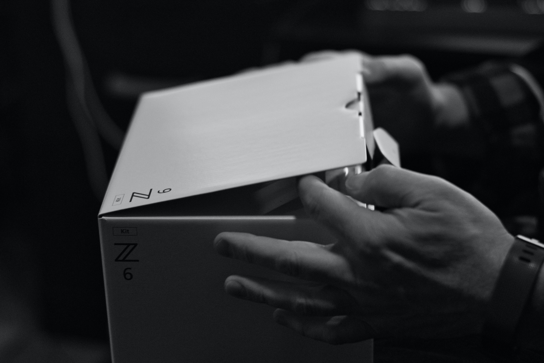 Free stock photo of box, nikon, nikon z6, opening