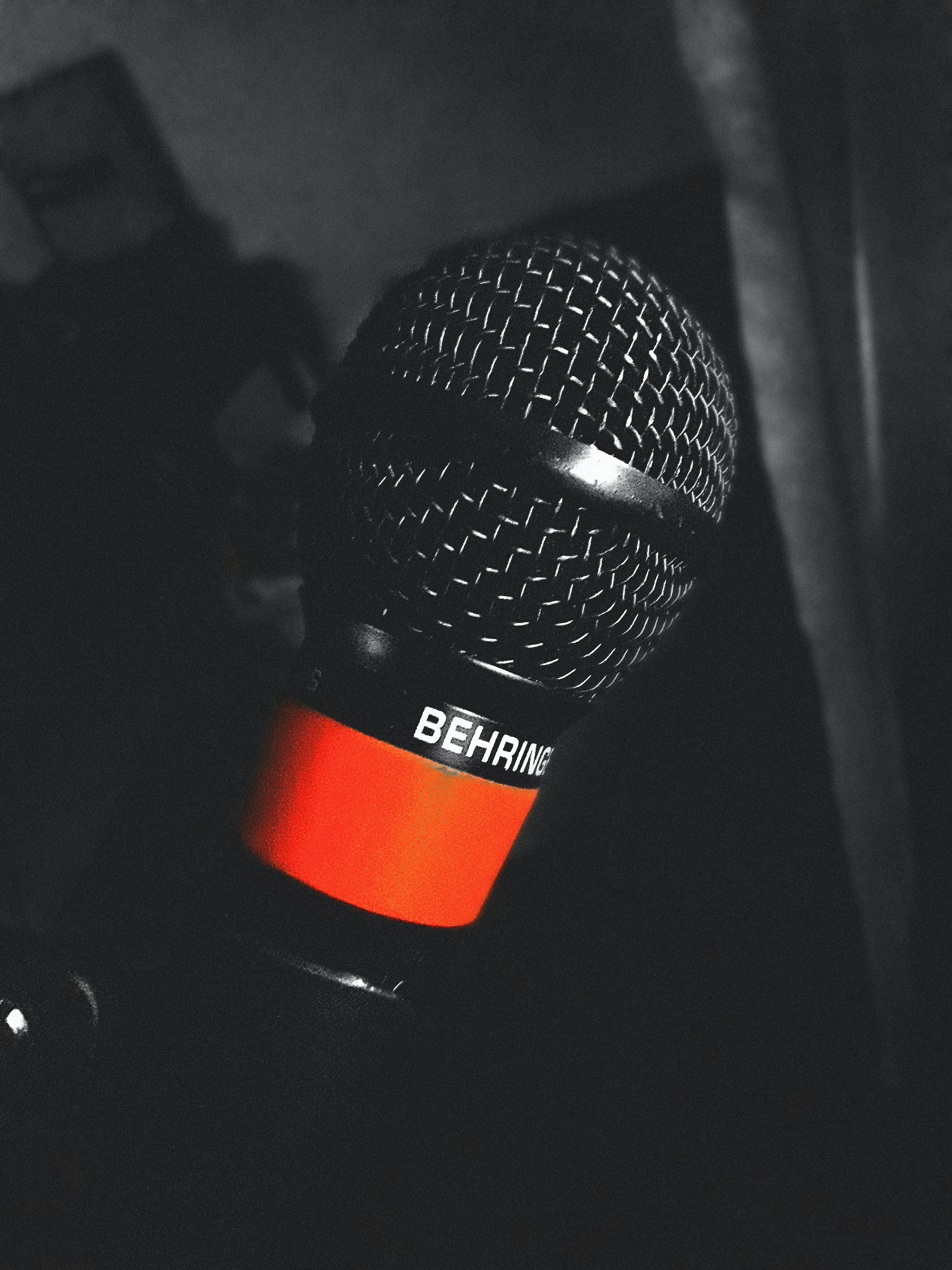 Free stock photo of behringer microphone