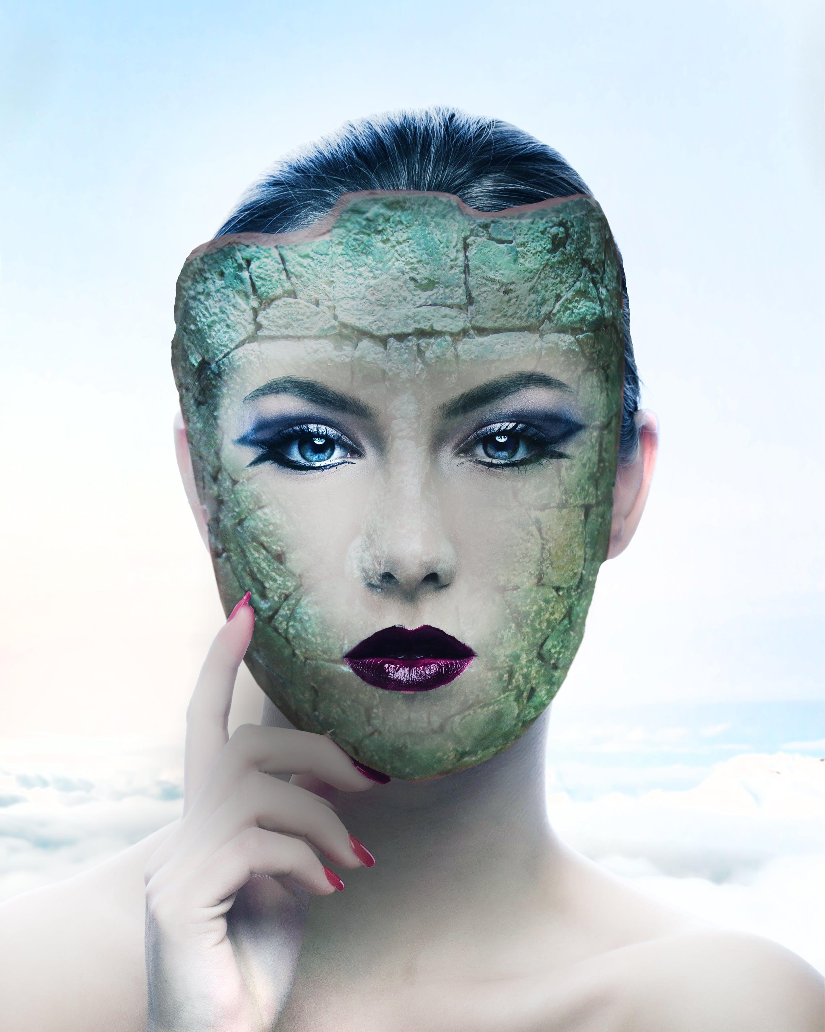 Free stock photo of girl, imagination, lightroom, mascara