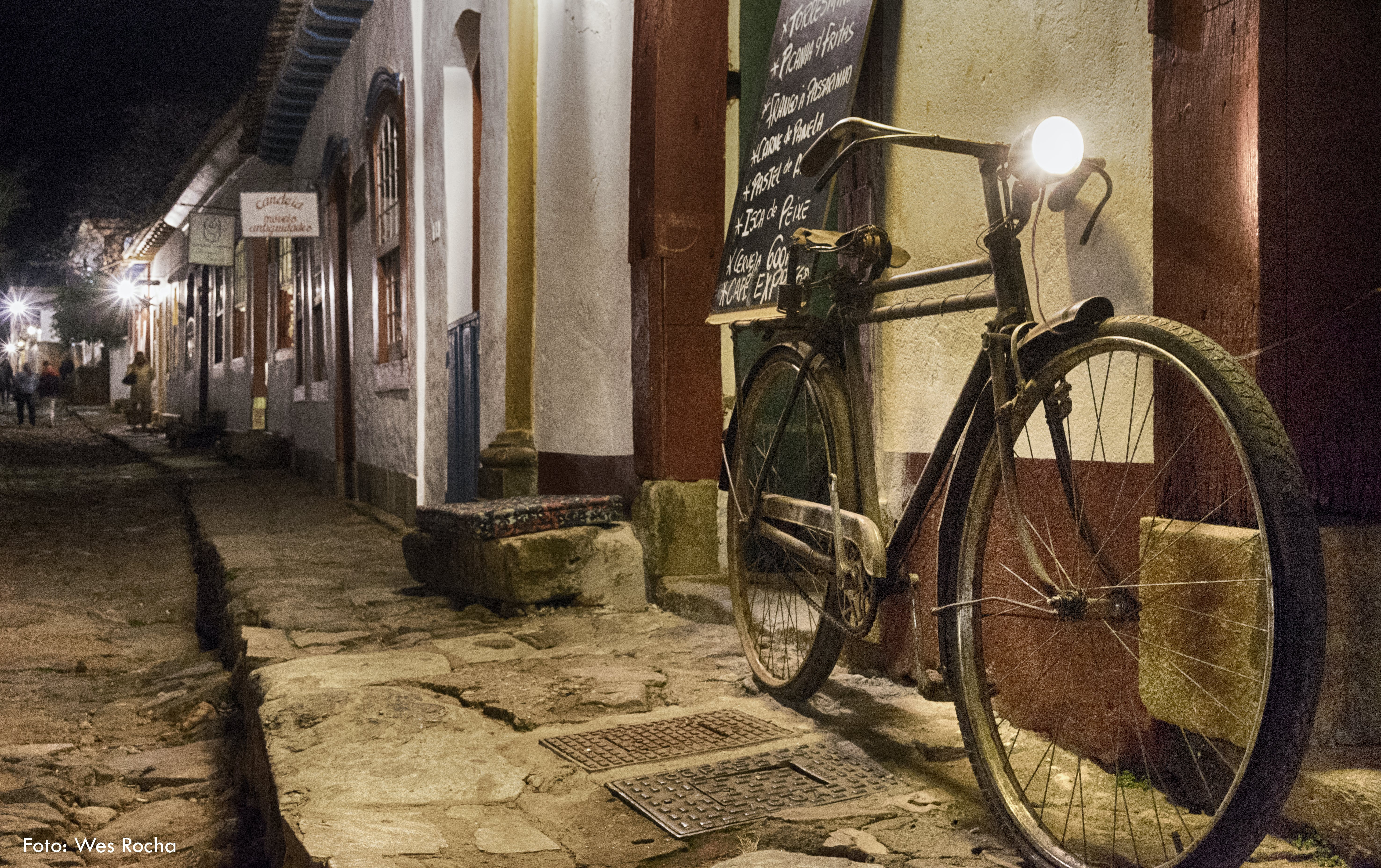 Free stock photo of bicycle, city lights, cool light, historically
