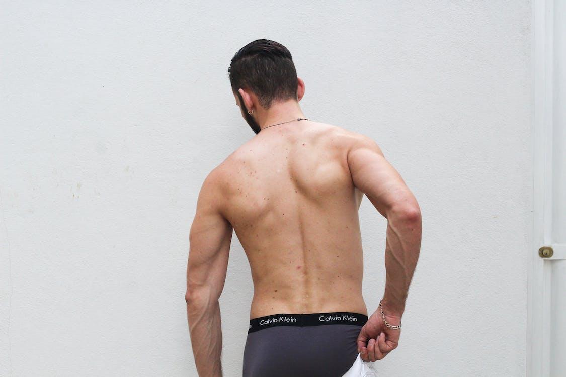 bíceps, cara, cobertura