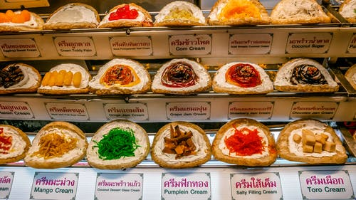 Free stock photo of colorful, desert, Thai sweets, thailand