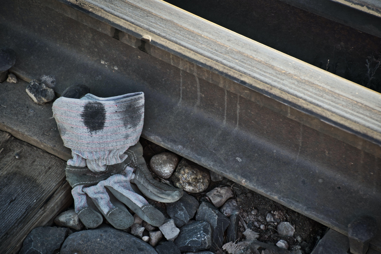 Free stock photo of discarded, rail, railroad, trash