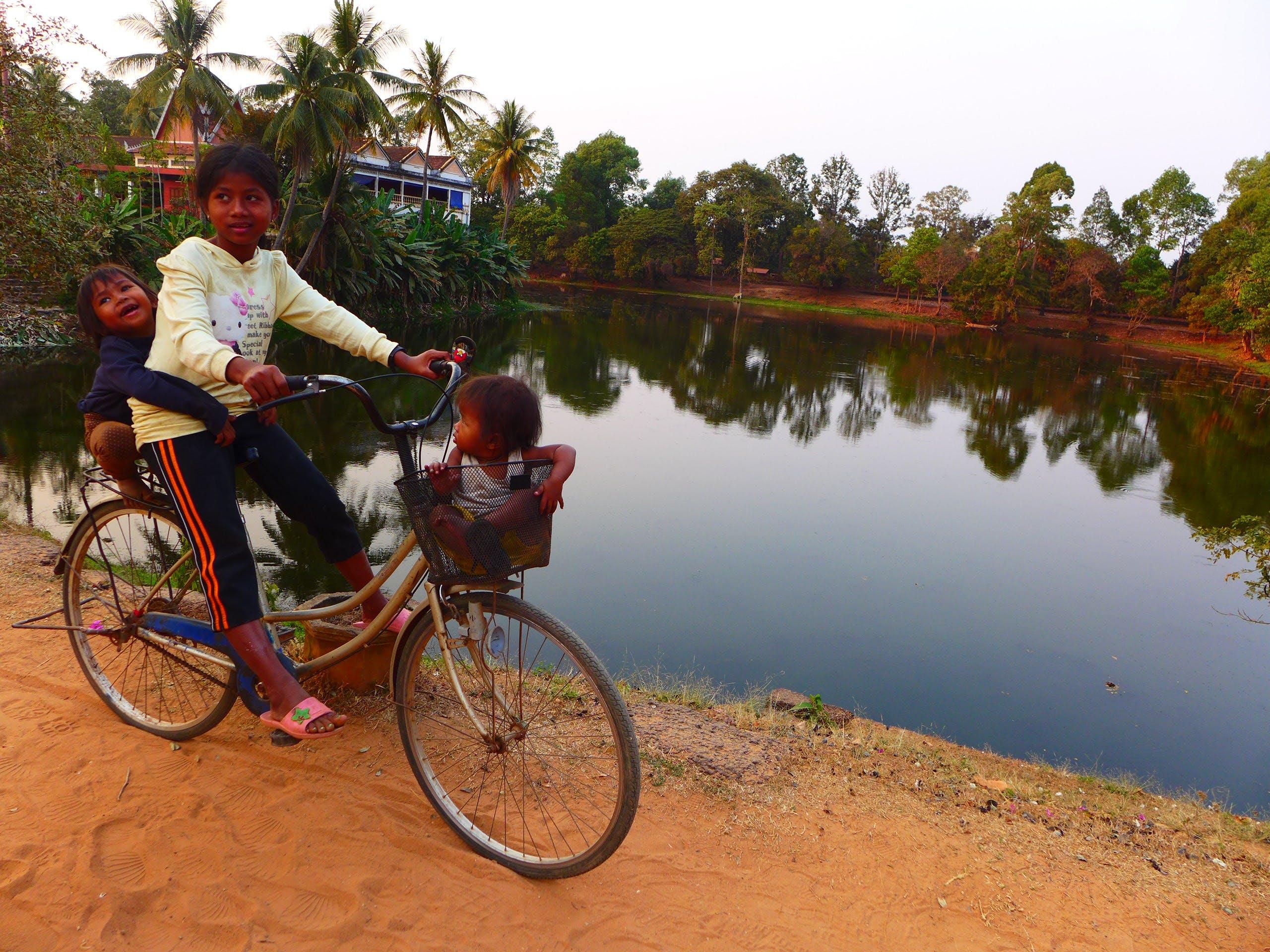 Free stock photo of asian child, cambodia