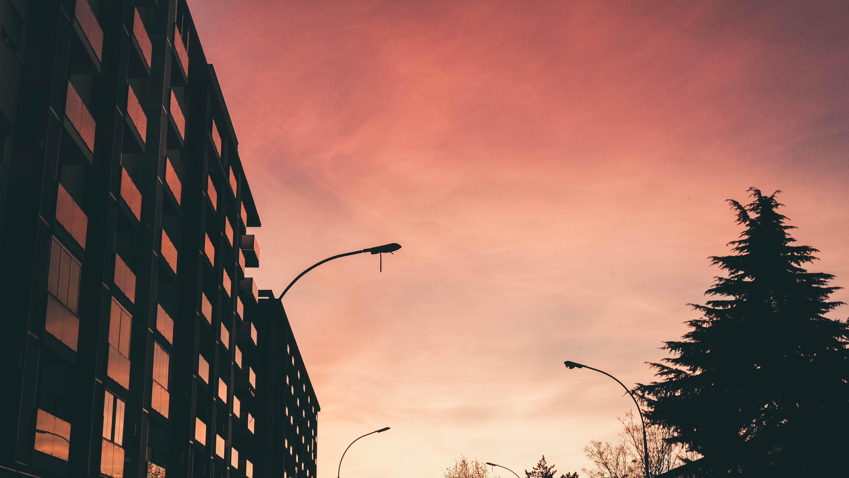 Gratis lagerfoto af appelsin, baggrund, crimson, himmel