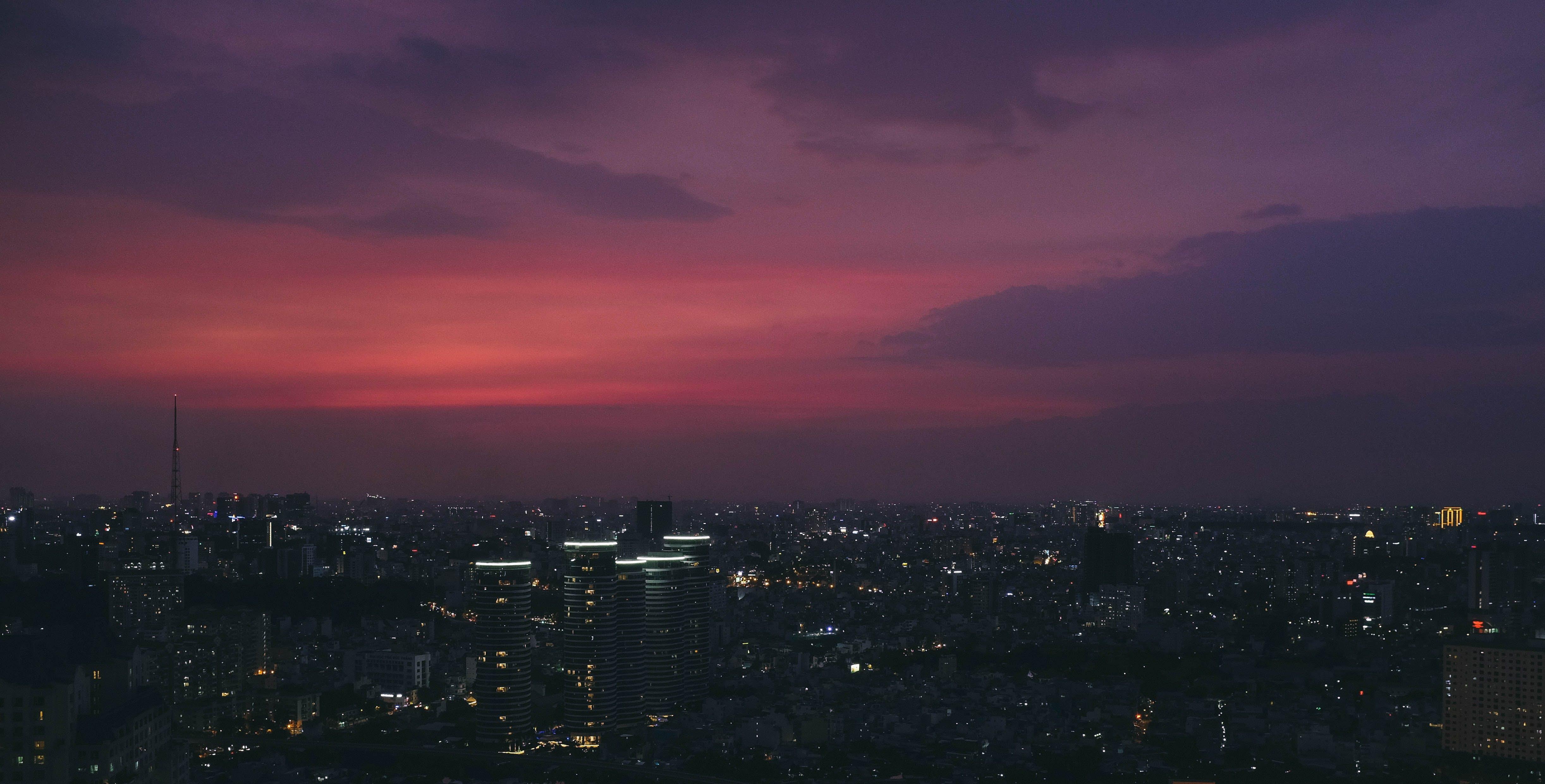 Fotos de stock gratuitas de amanecer, cielo, ciudad, ciudad de ho chi minh