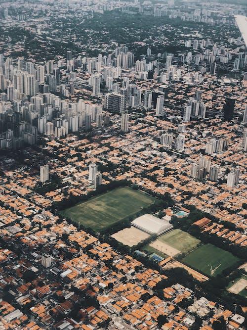 Δωρεάν στοκ φωτογραφιών με αστικός, γραφικός, θέα από drone, θέα από ψηλά