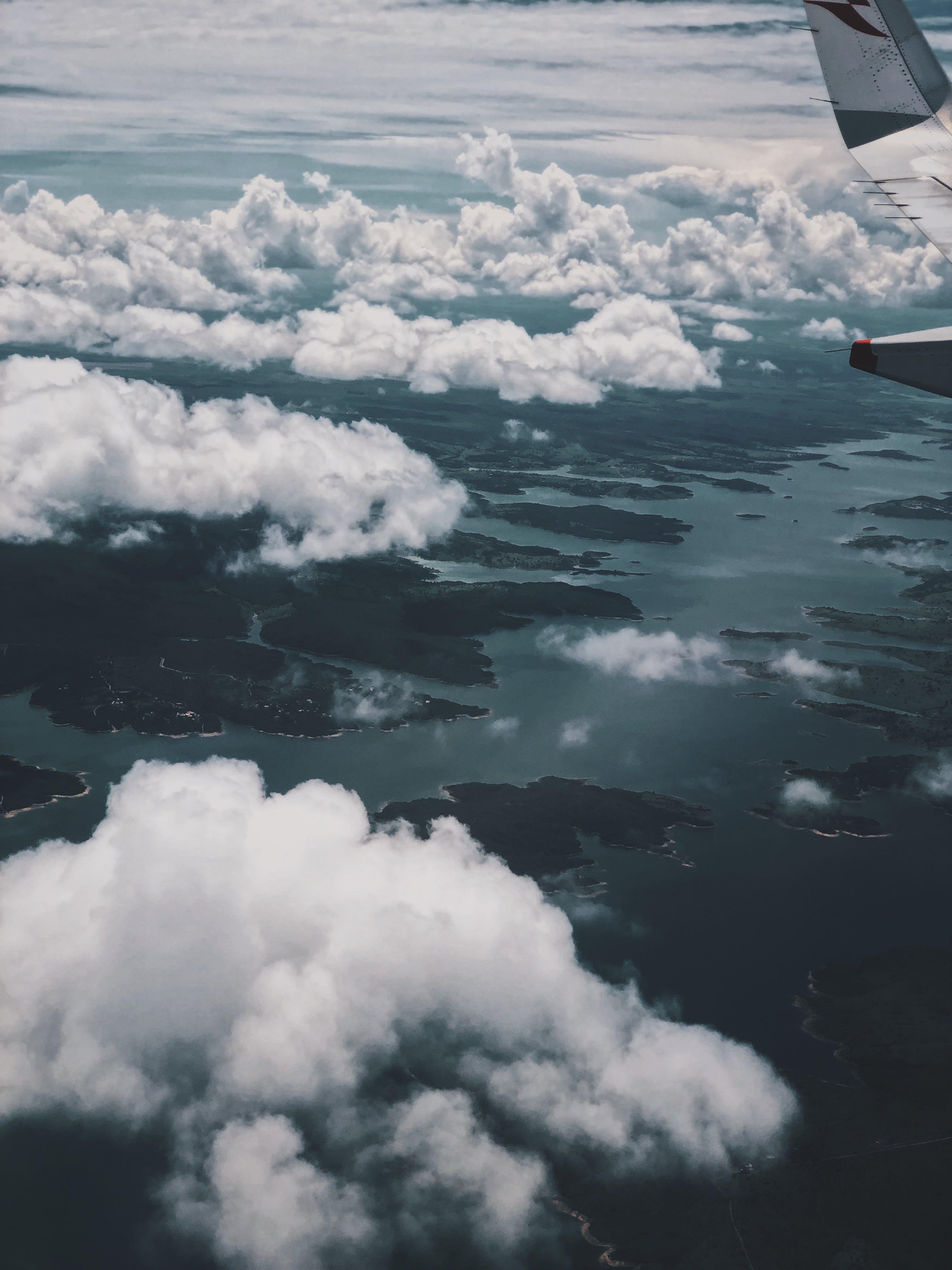 경치가 좋은, 구름, 구름 경치, 높은의 무료 스톡 사진