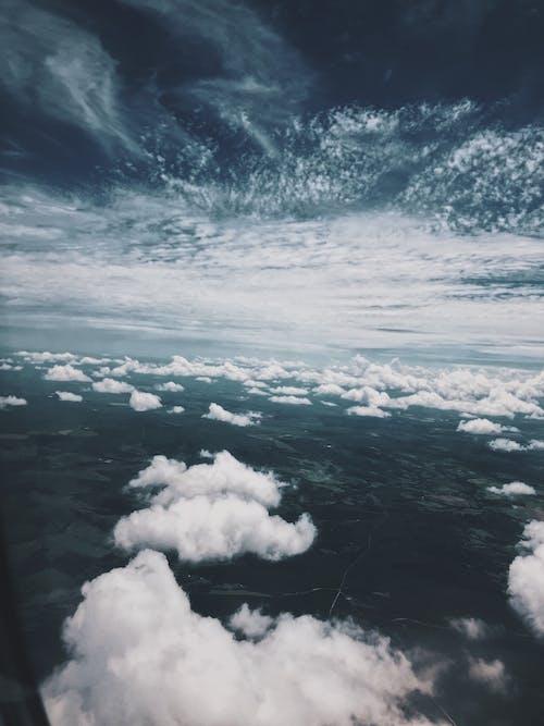 Foto stok gratis alam, awan, bentangan awan, di luar rumah