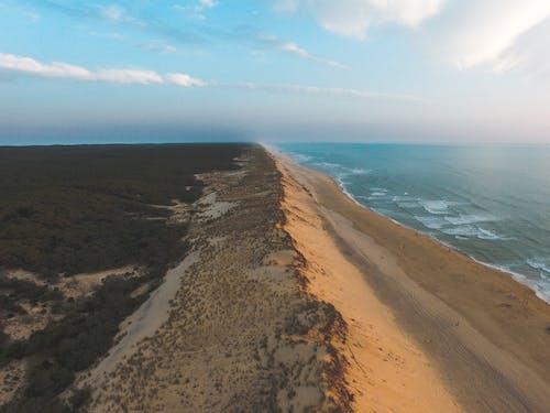 Δωρεάν στοκ φωτογραφιών με αεροφωτογράφιση, άμμος, αμμουδιά, βίντεο από drone