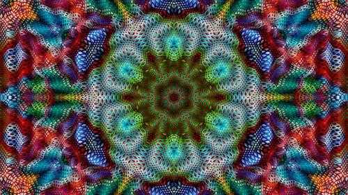 Foto d'estoc gratuïta de art, art generatiu, artesania, calidoscopi