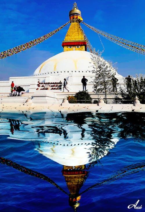 Kostenloses Stock Foto zu boudhanath, buddha, frieden