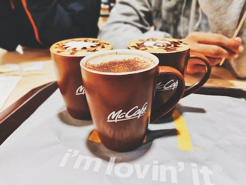 Free stock photo of coffee, coffee mug, mccafe, winter vibe