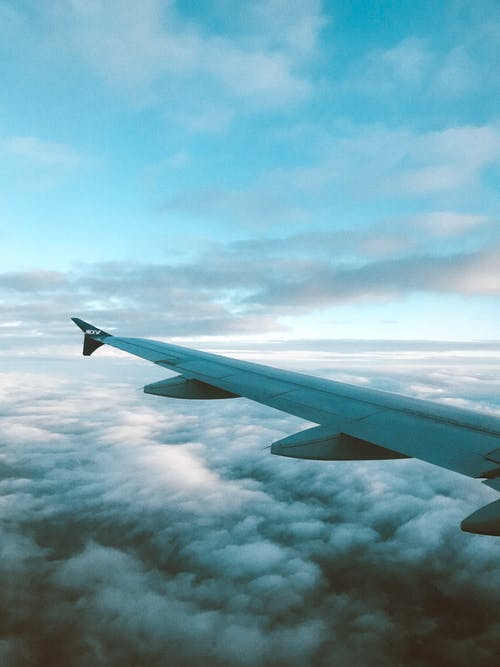 Fotos de stock gratuitas de aeronave, ala, ala de avión, alto