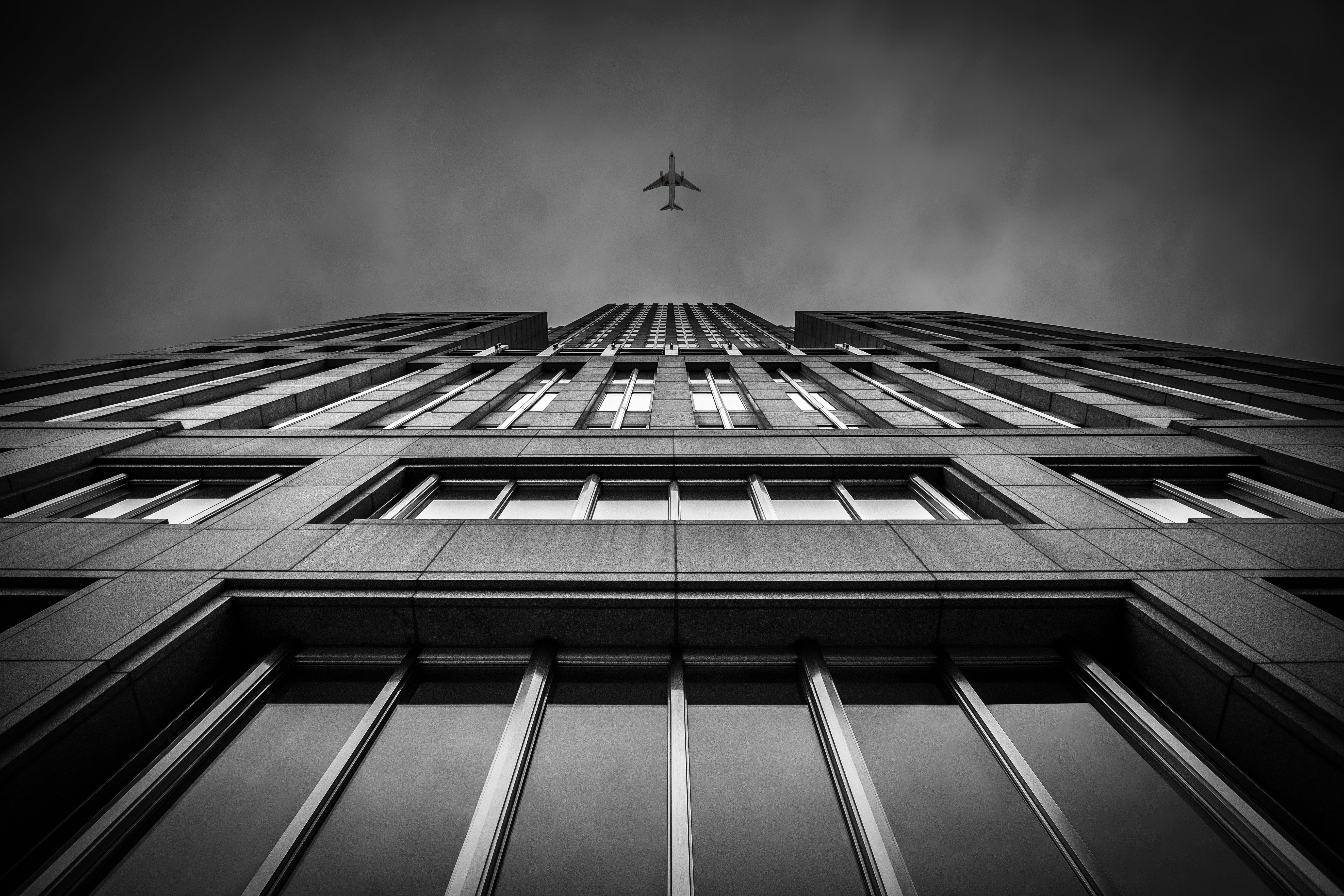 Gratis lagerfoto af 4k-baggrund, arkitektur, bygning, fly