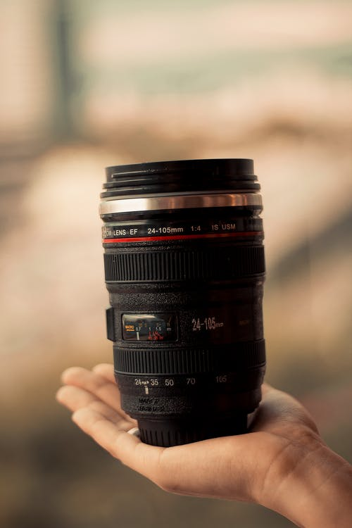 Close-Up Photo of Camera Lens