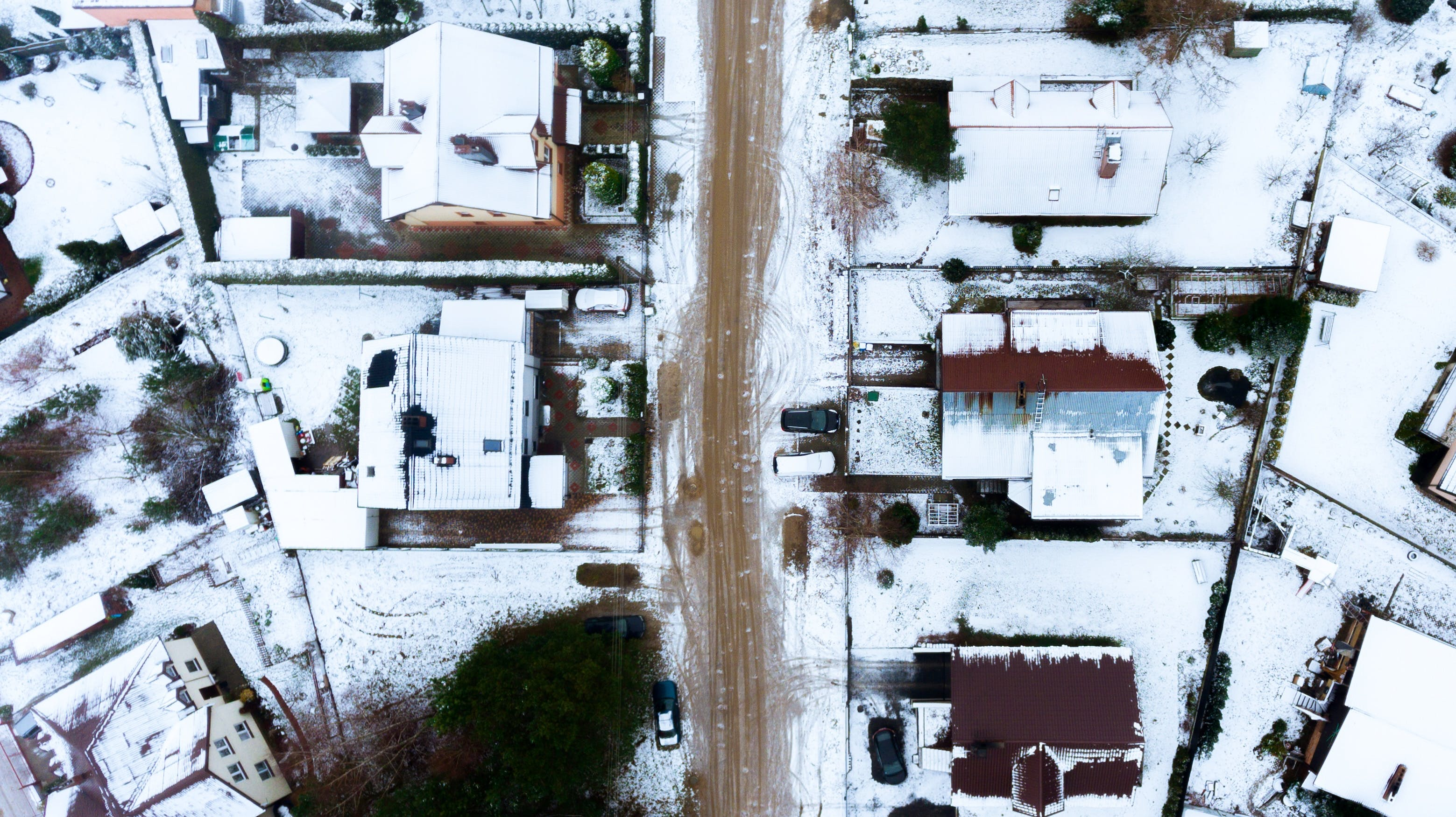 Free stock photo of drone, drone cam, drone photography, winter