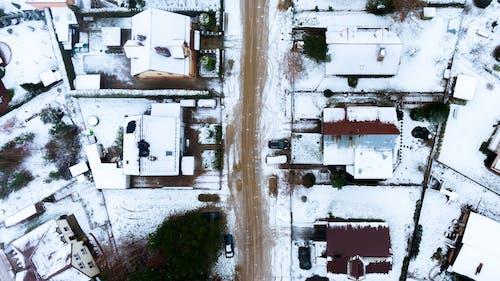Photos gratuites de caméra drone, drone, hiver, photographie avec un drone