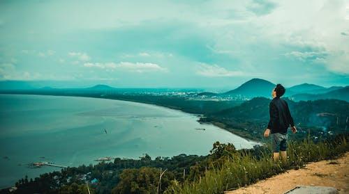 Imagine de stoc gratuită din cer albastru, faleză, Indonezia, indonezian