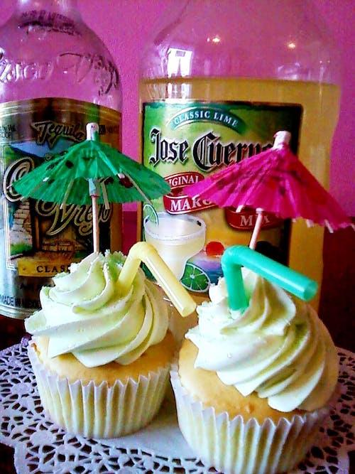 คลังภาพถ่ายฟรี ของ #cupcake #dessert #cake #margarita
