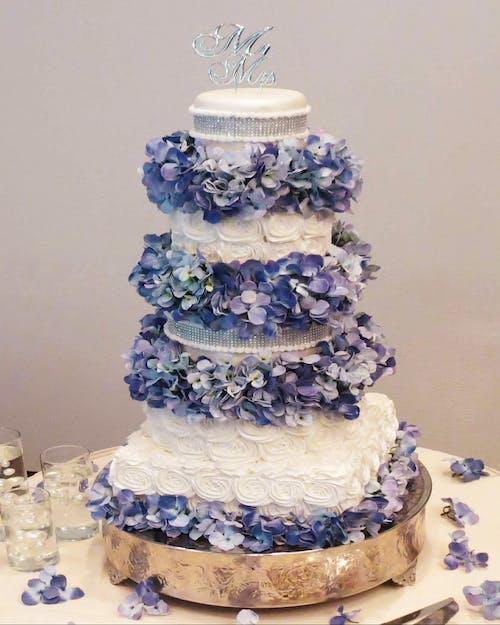 คลังภาพถ่ายฟรี ของ #wedding cake #wedding #cake #dessert #flower
