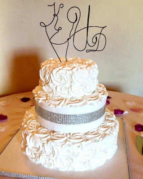 คลังภาพถ่ายฟรี ของ #cake #wedding cake #wedding #dessert