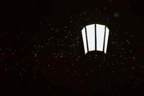Photos gratuites de lampadaire, neige